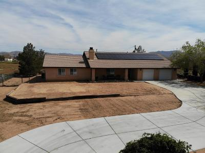 Apple Valley Single Family Home For Sale: 21416 Rancherias Road
