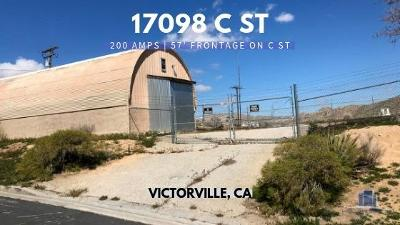 Victorville CA Commercial For Sale: $190,000