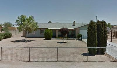 Apple Valley Single Family Home For Sale: 10621 Jamul Road