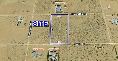 San Bernardino County Residential Lots & Land For Sale: Zuni Road