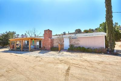 Pinon Hills Single Family Home For Sale: 8375 Beekley Road