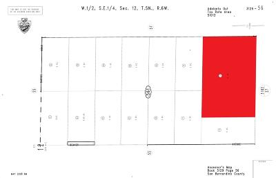 Adelanto CA Residential Lots & Land For Sale: $159,900