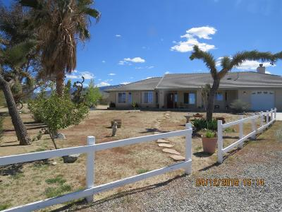 Pinon Hills Single Family Home For Sale: 12324 Mountain Road