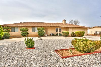 Apple Valley Single Family Home For Sale: 20957 Teton Road