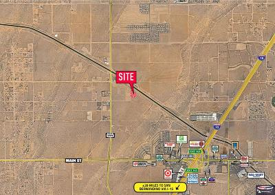 Hesperia CA Commercial Lots & Land For Sale: $219,900