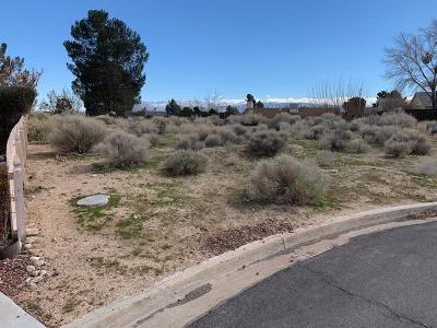 Victorville CA Residential Lots & Land For Sale: $24,500