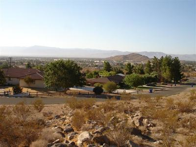 Apple Valley CA Residential Lots & Land For Sale: $94,900