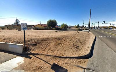 Hesperia CA Commercial Lots & Land For Sale: $625,000