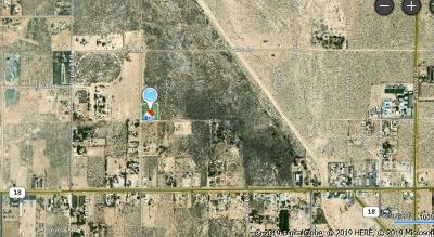 Lucerne Valley Residential Lots & Land For Sale: Trade Post Road