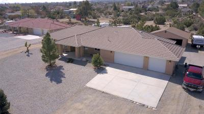 Pinon Hills Single Family Home For Sale: 624 Engman Road