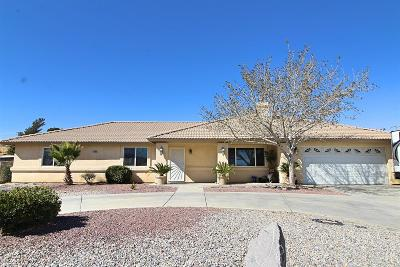 Hesperia Single Family Home For Sale: 17038 Cholla Avenue