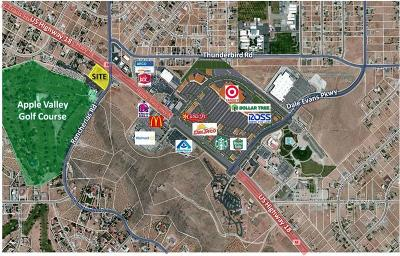 Apple Valley CA Commercial Lots & Land For Sale: $12,000