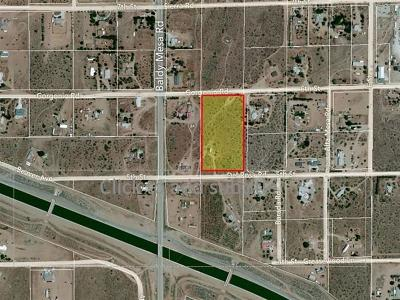 Victorville CA Residential Lots & Land For Sale: $155,000