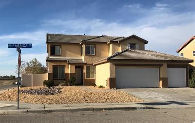 Victorville Single Family Home For Sale: 12306 Fabrica Street
