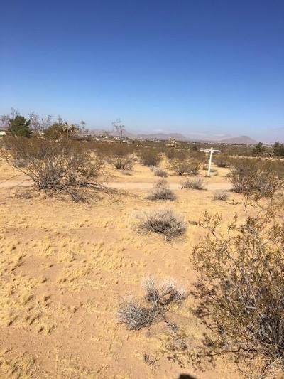 Apple Valley CA Residential Lots & Land For Sale: $14,999