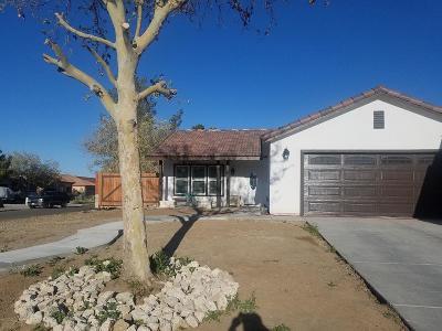 Adelanto Single Family Home For Sale: 14691 Kelly Street