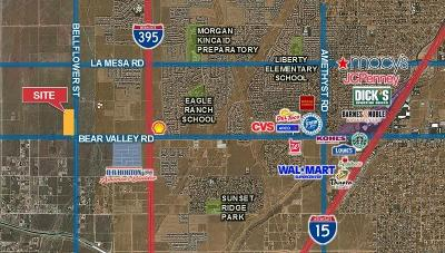 Victorville CA Commercial Lots & Land For Sale: $385,000