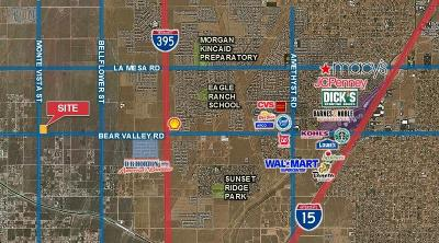Victorville CA Commercial Lots & Land For Sale: $215,000