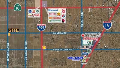 Victorville CA Commercial Lots & Land For Sale: $115,000