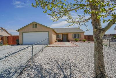 Adelanto Single Family Home For Sale: 17829 Mono Court