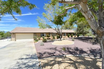 Apple Valley CA Single Family Home For Sale: $384,500