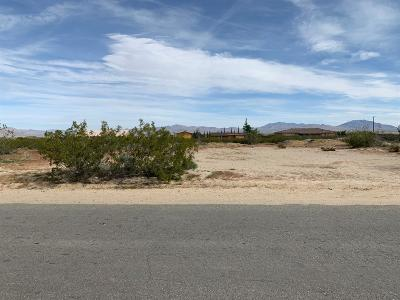 Lucerne Valley CA Residential Lots & Land For Sale: $14,500