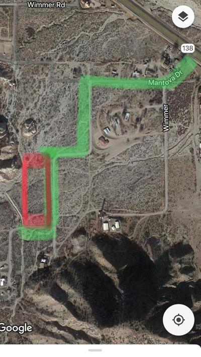 Phelan Residential Lots & Land For Sale: Hwy138 Highway