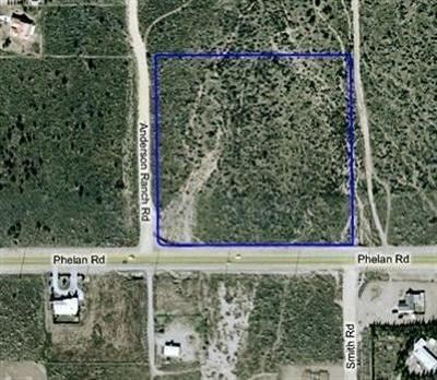 Phelan Residential Lots & Land For Sale: Phelan Road