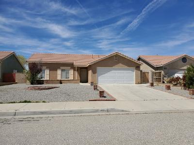 Adelanto Single Family Home For Sale: 14662 Allison Street