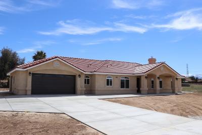 Hesperia Single Family Home For Sale: 13965 Chestnut Street