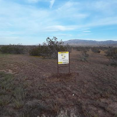 Apple Valley CA Residential Lots & Land For Sale: $40,000
