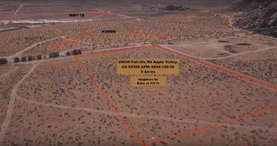 Apple Valley CA Residential Lots & Land For Sale: $42,000