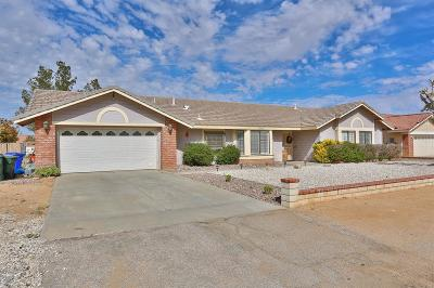 Apple Valley Single Family Home For Sale: 13442 Cuyamaca Road