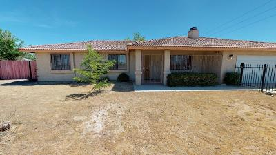 Apple Valley Single Family Home For Sale: 11911 Kiowa Road