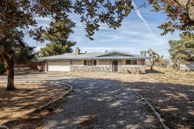 Hesperia Single Family Home For Sale: 18766 Benicia Street