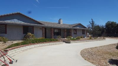 Apple Valley Single Family Home For Sale: 22622 Ocotillo Way