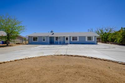 Apple Valley Single Family Home For Sale: 13163 Yakima Road