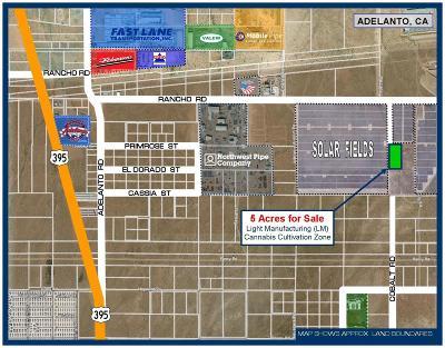 Adelanto Commercial Lots & Land For Sale: Cobalt Road