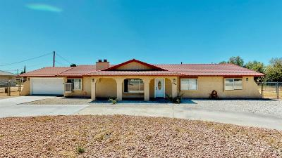 Apple Valley Single Family Home For Sale: 15414 Apple Valley Road