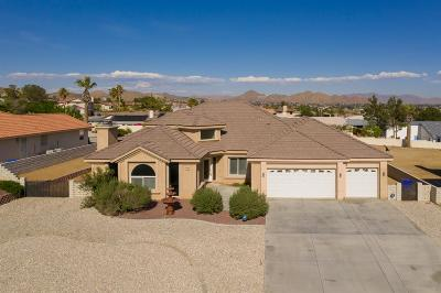 Apple Valley Single Family Home For Sale: 16257 Ridge View Drive