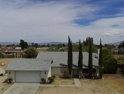 Victorville Single Family Home For Sale: 12845 Stage Coach Drive