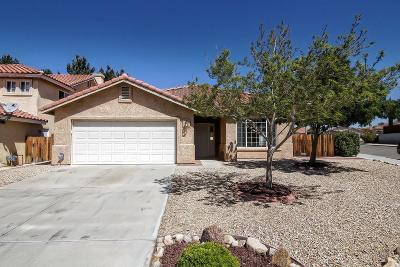Victorville Single Family Home For Sale: 13526 Jubilee Place