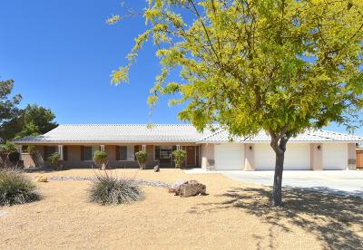 Apple Valley Single Family Home For Sale: 13010 Choco Road