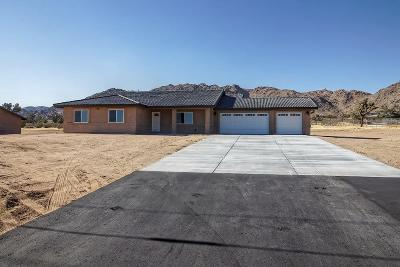 Apple Valley Single Family Home For Sale: 24598 Cahuilla Road