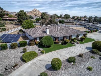Apple Valley Single Family Home For Sale: 16566 Nosoni Lane
