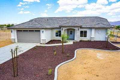 Apple Valley Single Family Home For Sale: 22602 Pahute Road