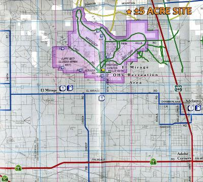 Adelanto Residential Lots & Land For Sale: Mountain Road