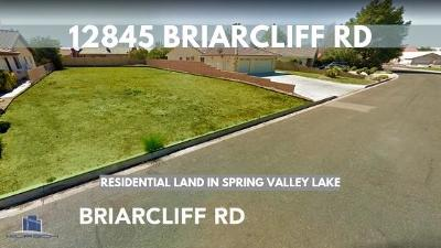 Victorville CA Residential Lots & Land For Sale: $59,000