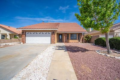 Victorville Single Family Home For Sale: 12905 Riverview Drive