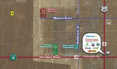 Adelanto Residential Lots & Land For Sale: Hurley Road